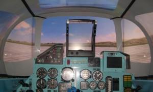 simulateur avion de chasse SU27