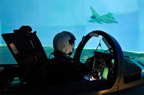 simulateur de vol typhoon