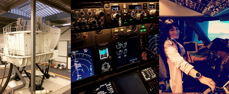 simulateur de vol boeing